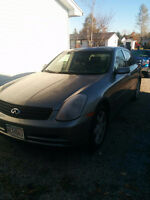 2004 Infiniti G35x All leather Sedan