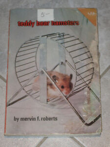 ..TEDDY BEAR HAMSTER. BOOK...by.[Roberts]....