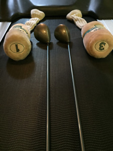 Ladies Left Hand Vintage Callaway Gems Driver & 3 Wood
