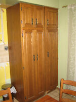 Used kitchen Cabinet-Wood