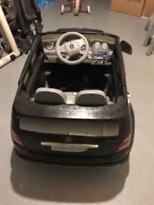 Mercedes Benz toy car