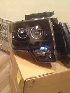 Brand New LED Black Halo Projector Headlights Ford F150 Edmonton Edmonton Area image 4