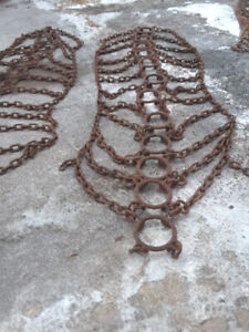 Heavy duty forestry ring chains
