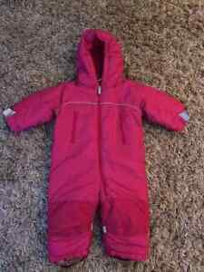 Girls 18 Month Snow Suit.