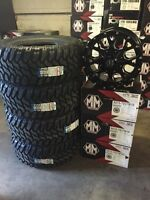 """Dodge Ram/Jeep Wrangler 17"""" Cooper mud Tire and Rim Package"""