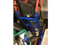 Sack truck 350kg capacity, large puncture proof wheels