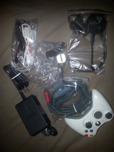 LOT OF OLDER VIDEO GAME ACCESSORIES (360/PS3/GAMECUBE)