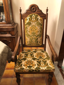SIX Vintage European Chairs - EXCELLENT Condition - $330 OBO