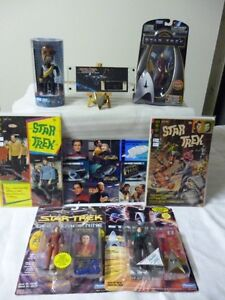 Movie Star Trek Figurines, Comics from the 70's, Pin, Film Cell