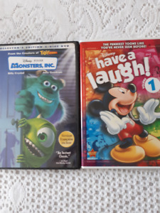 Monsters Inc./Micky and friends - DVDs