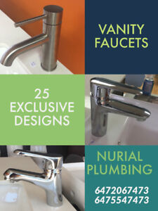 VANITY FAUCET BATHROOM TAPS WASHROOM FAUCETS SINGLE HOLE FAUCETS