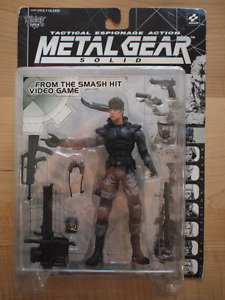 Metal Gear Solid - Solid Snake McFarlane Figure 1998 Sealed