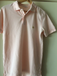 Brooks Brothers Polo Pink Men's Small