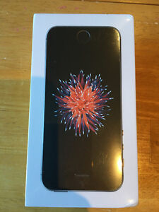 iPhone SE Space Grey  16 GB - Unsealed (Fido)
