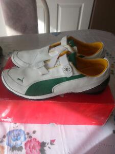 Puma shoes Felipe Massa 10.5 US Leather Neuf
