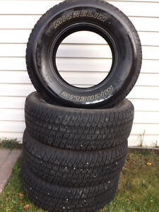 MICHELIN LTX/AT 265/R70/17 TRUCK TIRES FOR SALE