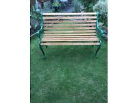 Restored garden bench. Vgc can deliver
