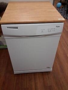 *** NEW *** WHIRLPOOL PORTABLE WHITE DISHWASHER   S/N:F60906933   #STORE219