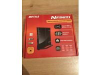 Buffalo nfiniti Wireless router access point and bridge