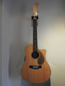 ACOUSTIC GUITAR 12 STRING | Fender Villager 12-String Electric