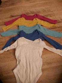 Set of 5 long sleeved vests from John Lewis