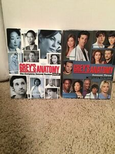 Greys anatomy - season 2 and 3