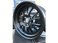 "18"" Klutch alloy wheels Alloys Rims tyres tyre 5x120 1 2 3 4 5 series BMW Volkswagen t5 transporter"