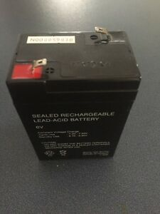 SEALED RECHARGEABLE 6 VOLT BATTERY Cambridge Kitchener Area image 2