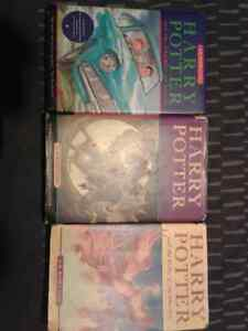 Harry Potter books 3,5 hard cover editions except 5 St. John's Newfoundland image 1