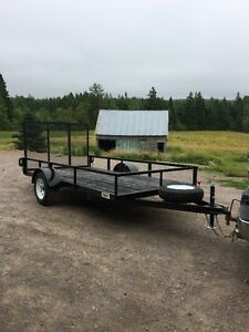CUSTOM BUILT TRAILERS FOR SALE