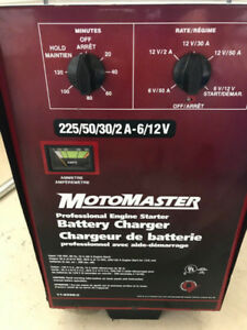 MotoMaster Professional Engine Starter / Battery Charger