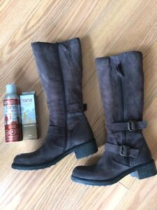 Browns boots (size 11, chocolate brown)