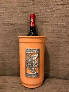 Terracotta wine bottle cooler