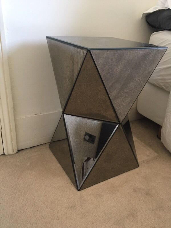 West Elm Mirror Side Table