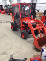 2001 Kubota BX2200D with a Cab, Front Snow Blower and Mower