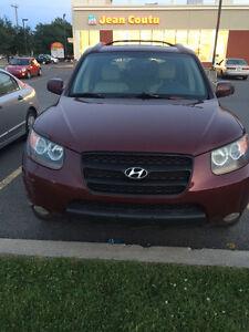 2007 Hyundai Santa Fe Camionnette ( deffectu )