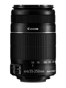 Canon EFS 55-250mm f/4-5.6 IS Lens
