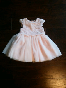 Baby Girl Dress With Cardigan 12-18 months