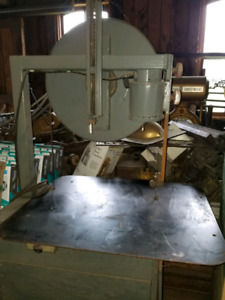 Steel or wood band saw floor modle