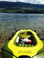 2 person Inflatable paddle boat