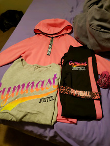 Girls justyce outfit worn once