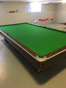 Snooker/Pool Table for sale with all accessories Shown