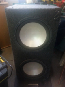 Infinity Subwoofer and custom box