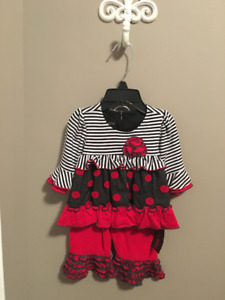 Never worn. Baby Outfit. Size 3 months.