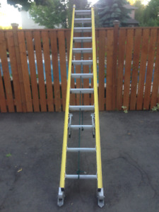 24 Feet Tall Extension Ladder For Sale -- 50% OFF!