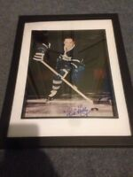 Toronto maple leafs red kelly signed and framed photo