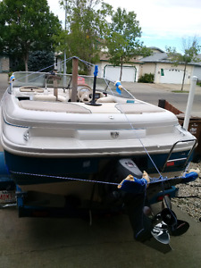 17.5 ft 190hp Glastron boat
