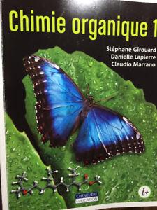 Livre chimie organique I NEUF!