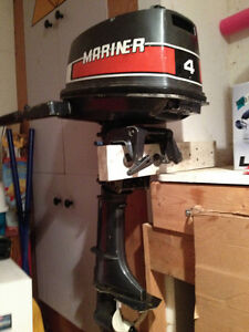 4HP Marriner outboard motor in excellent condition