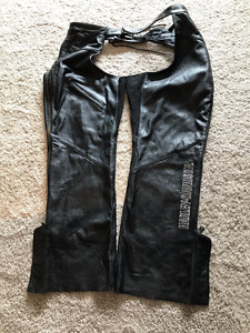 Harley Davidson Deluxe Leather Chaps - unisex $300 OBO